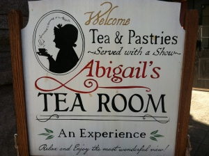 Abigail's Tea Room (personal photo)