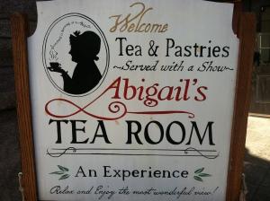 Abigail's Tea Room (personal photo)