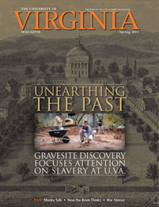 Unearthing the Past - UVA Magazine
