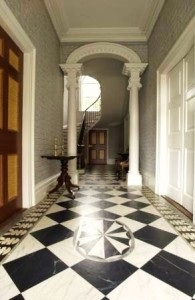 The Entry Hall, Davenport House (from Davenport House website).