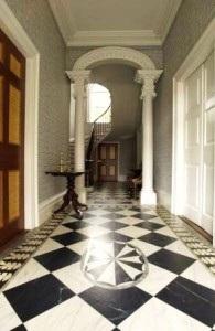 The Entry Hall, Davenport House (from Davenport House website).