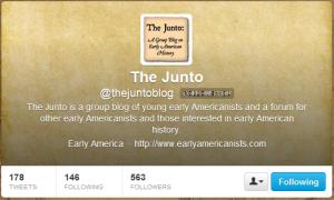 The Junto (thejuntoblog) on Twitter