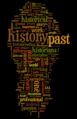 Word Cloud of Cronon's 2013 Presidential Address