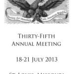 SHEAR 2013: ConferenceRecap