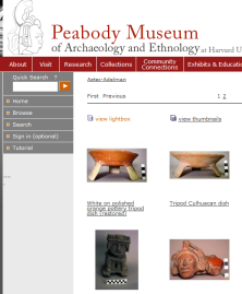Peabody Online Exhibit