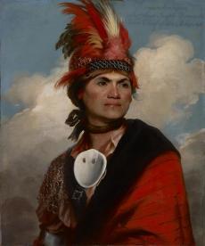 Joseph Brant (Gilbert Stuart, 1785)