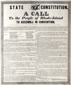 The printed call for a state convention, 1841.