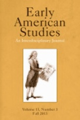 Early American Studies cover