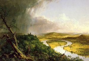 Thomas Cole - The Oxbow