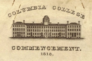 Columbia College Commencement, 1818