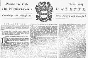 PennsylvaniaGazette1758