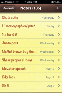 iphone notes screencap