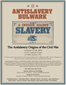 Antislavery Bulwark Conference Flier