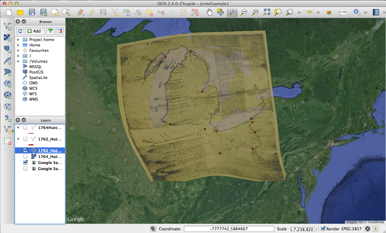 A Beginner's Guide to Mapping Early America with Basic GIS