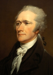 Alexander Hamilton, by John Trumbull (after painting by Giuseppe Ceracchi, 1801); National Portrait Gallery, Smithsonian Institution; Gift of Henry Cabot Lodge