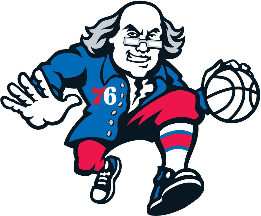 8f82e9cc00b Ballin' Ben Franklin, Father Knickerbocker, and Lucky the Leprechaun:  Representations of Early American History in NBA Team Logos « The Junto