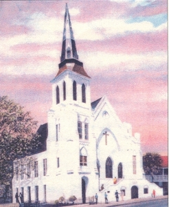 The Emanuel African Methodist Episcopal Church.