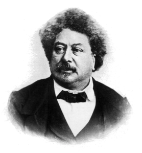Figure 4: Alexandre Dumas. Accessed via Wikipedia (Public Domain).