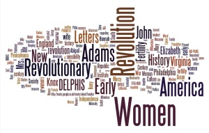 A Wordle made from sources my undergraduates located for our in-class source-finding competition