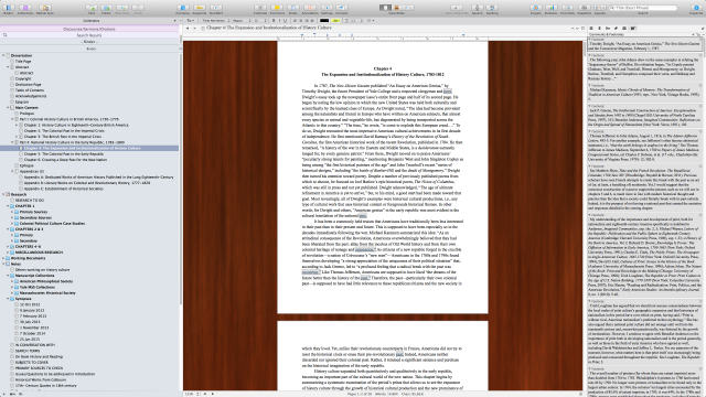 Dissertating with Scrivener