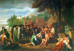 The Treaty of Penn with the Indians (Benjamin West, 1771-72)
