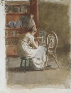 Homespun, Thomas Eakins, 1881, Metropolitan Museum of Art