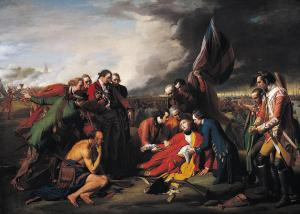 """The Death of General Wolfe,"" by Benjamin West"