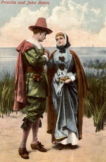 Priscilla And John Alden