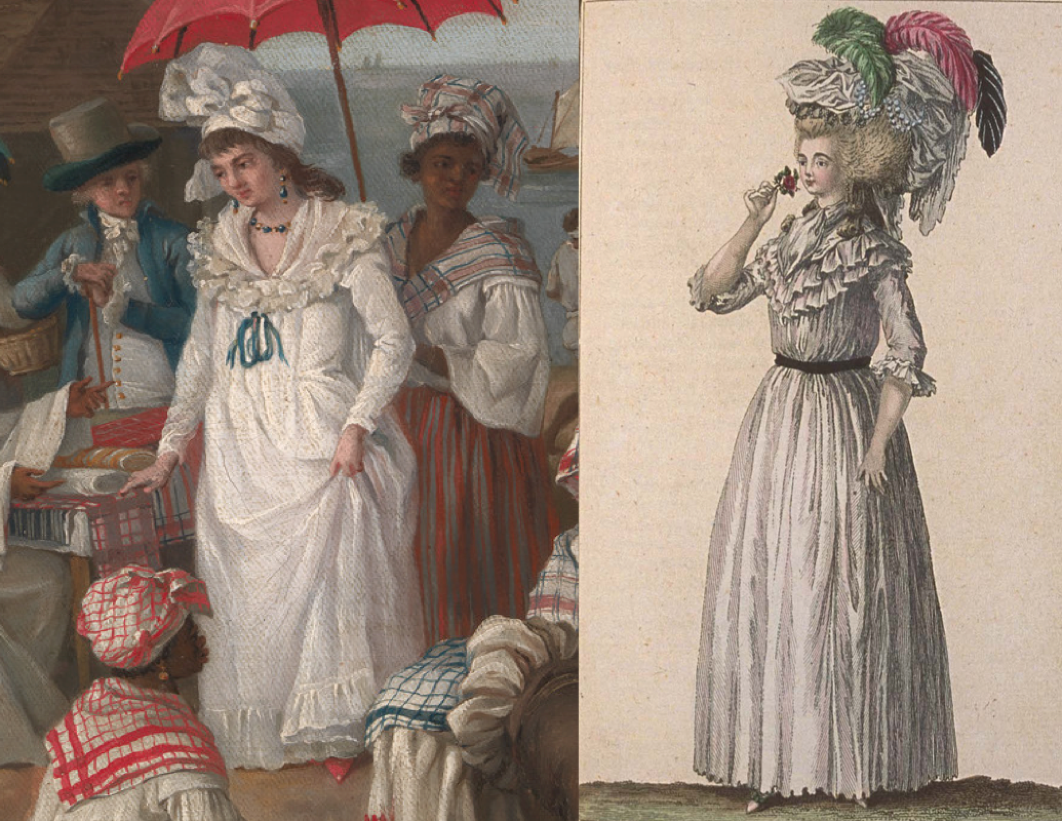 Creole Comforts And French Connections A Case Study In Caribbean Dress The Junto