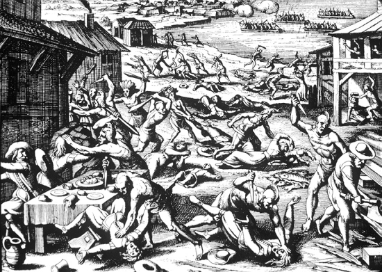 merian massacre of 1622