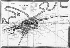Map of Utica, 1828